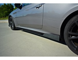 Hyundai Genesis Coupe Racer Side Skirt Extensions