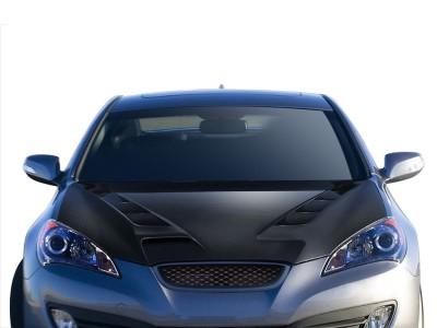 Hyundai Genesis Coupe Sakuro Carbon Fiber Hood