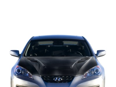 Hyundai Genesis Coupe Vortex Carbon Fiber Hood