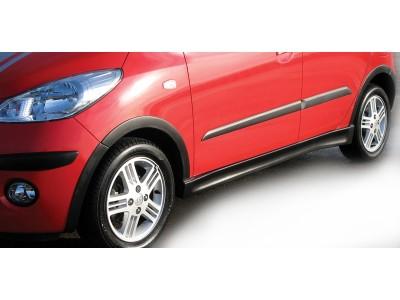 Hyundai I10 Sport Seitenschwellern + Kotflugelverbreiterungen