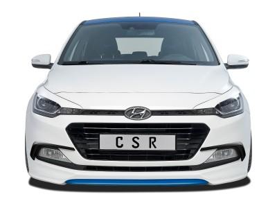 Hyundai I20 MK2 Crono Front Bumper Extension