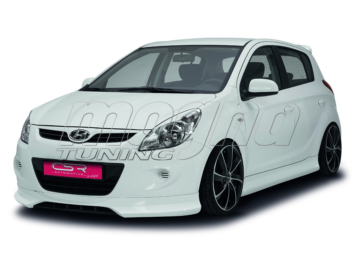 Hyundai I20 NewLine Front Bumper Extension