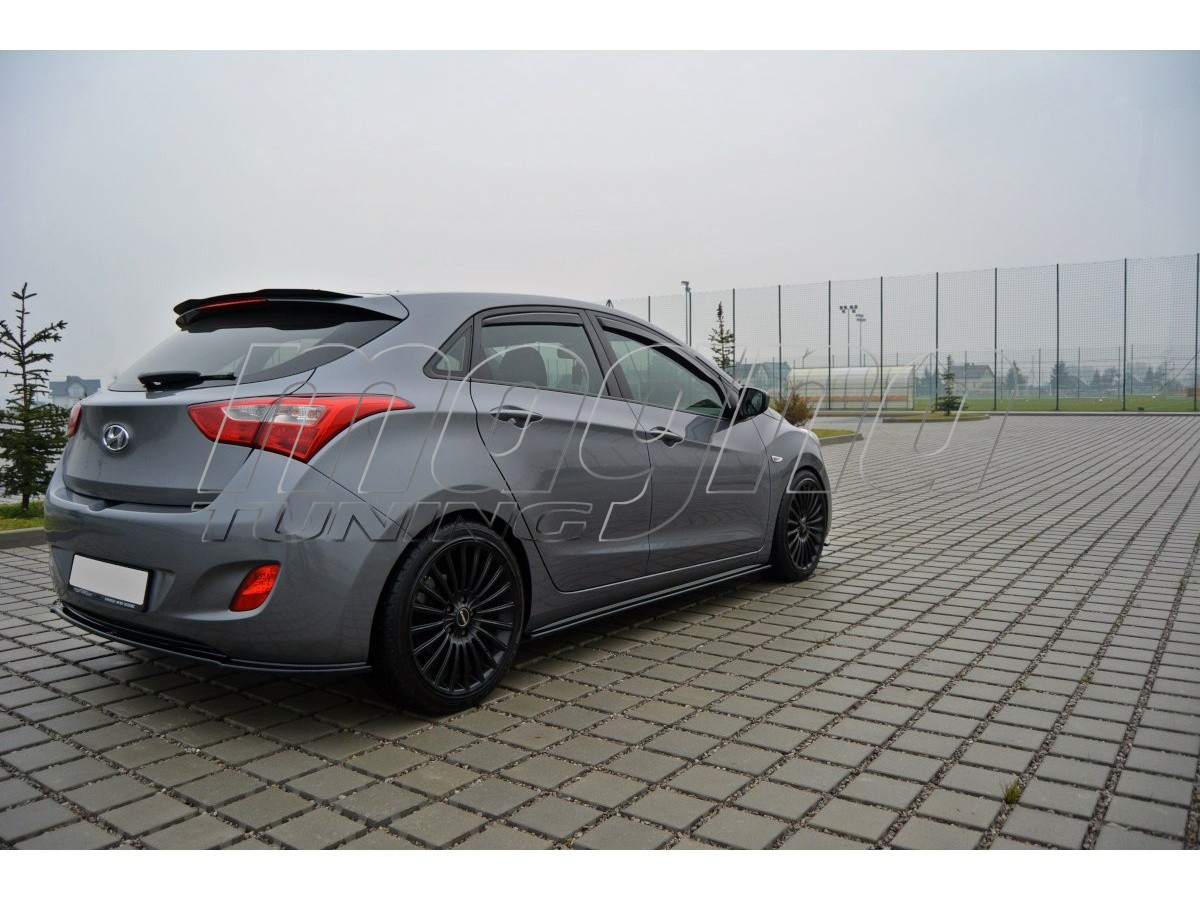 Hyundai I30 MK2 MX Side Skirt Extensions