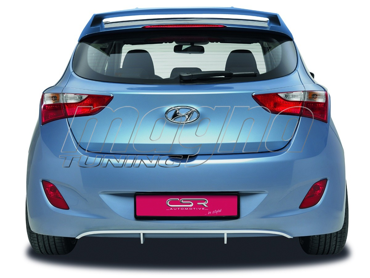 Hyundai I30 MK2 NewLine Rear Bumper Extension