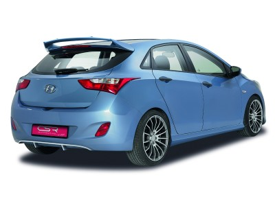 Hyundai I30 MK2 NewLine Rear Bumper Extension