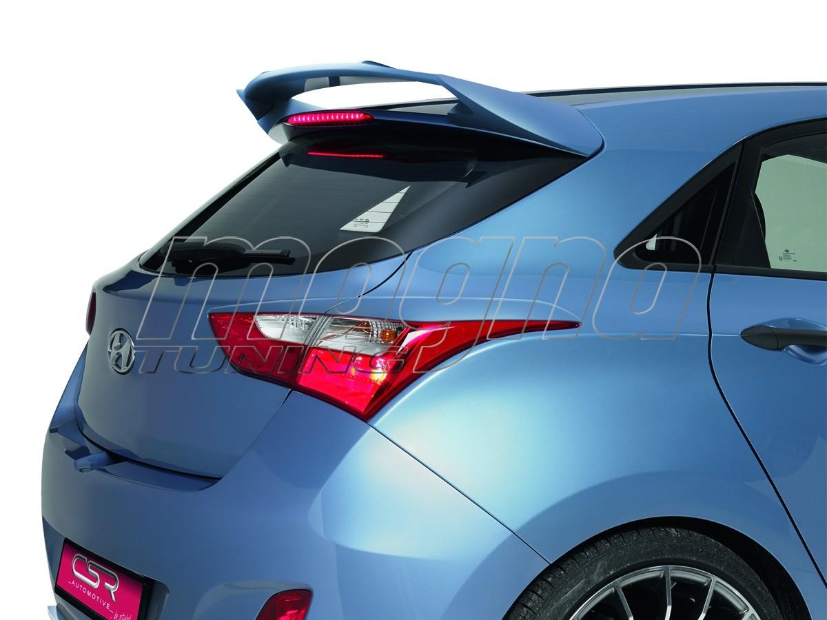 Hyundai I30 MK2 NewLine Rear Wing