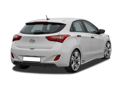 Hyundai I30 MK2 V2 Rear Bumper Extension