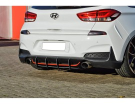 Hyundai I30 N MK3 Intenso Rear Bumper Extension
