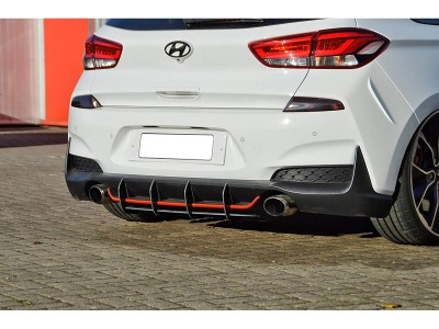 Hyundai I30 N MK3 Intenso Rear Bumper Extension