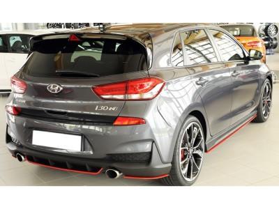 Hyundai I30 N MK3 Razor Rear Bumper Extensions