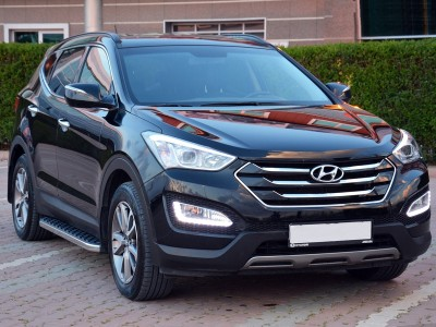 Hyundai Santa Fe MK3 Helios Trittbretter