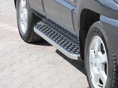 Hyundai Tucson MK1 Helios Trittbretter