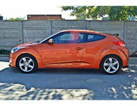 Hyundai Veloster MX Side Skirt Extensions