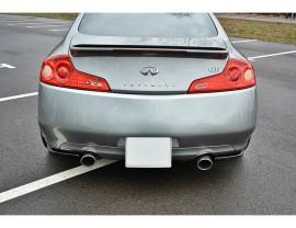 Infiniti G-Series G35 V35 MX Rear Bumper Extensions