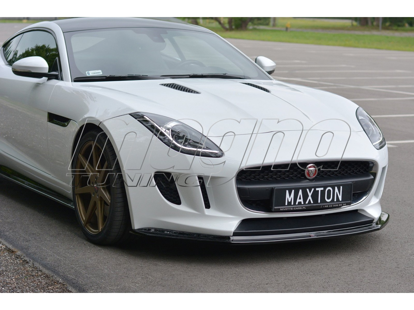 Jaguar F-Type MX Front Bumper Extension