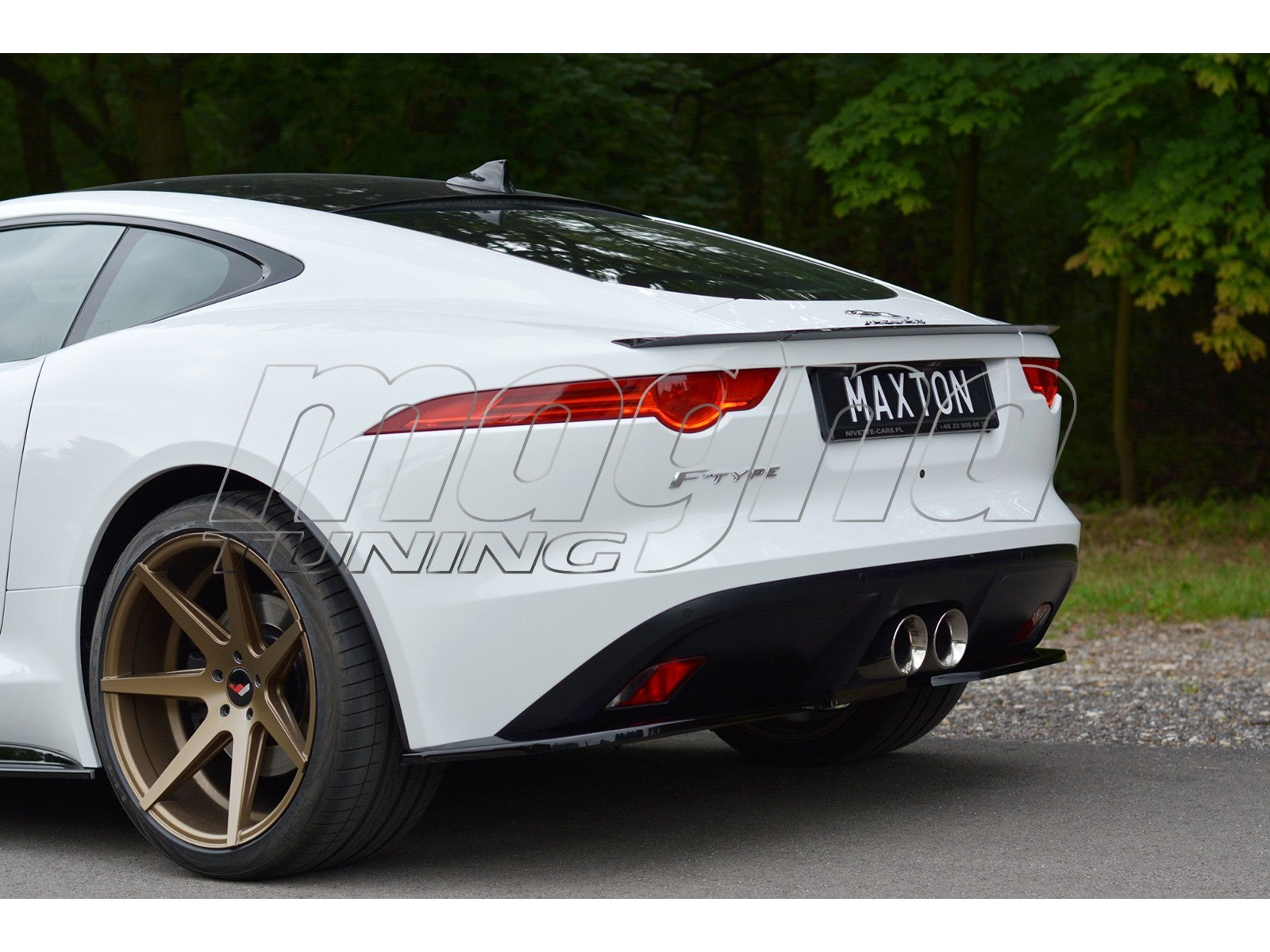 Jaguar F-Type MX Rear Wing Extension
