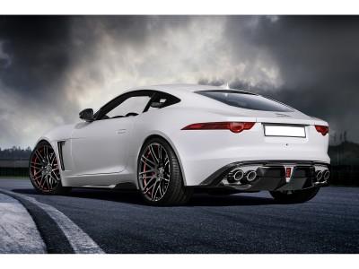 Jaguar F-Type Stenos Carbon Heckansatz