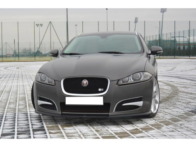 Jaguar XF X250 MX Front Bumper Extension