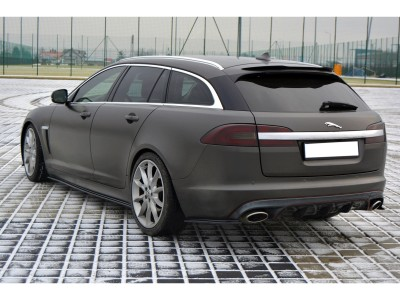 Jaguar XF X250 MX Rear Bumper Extensions
