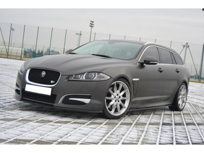 Jaguar XF X250 MX Side Skirt Extensions