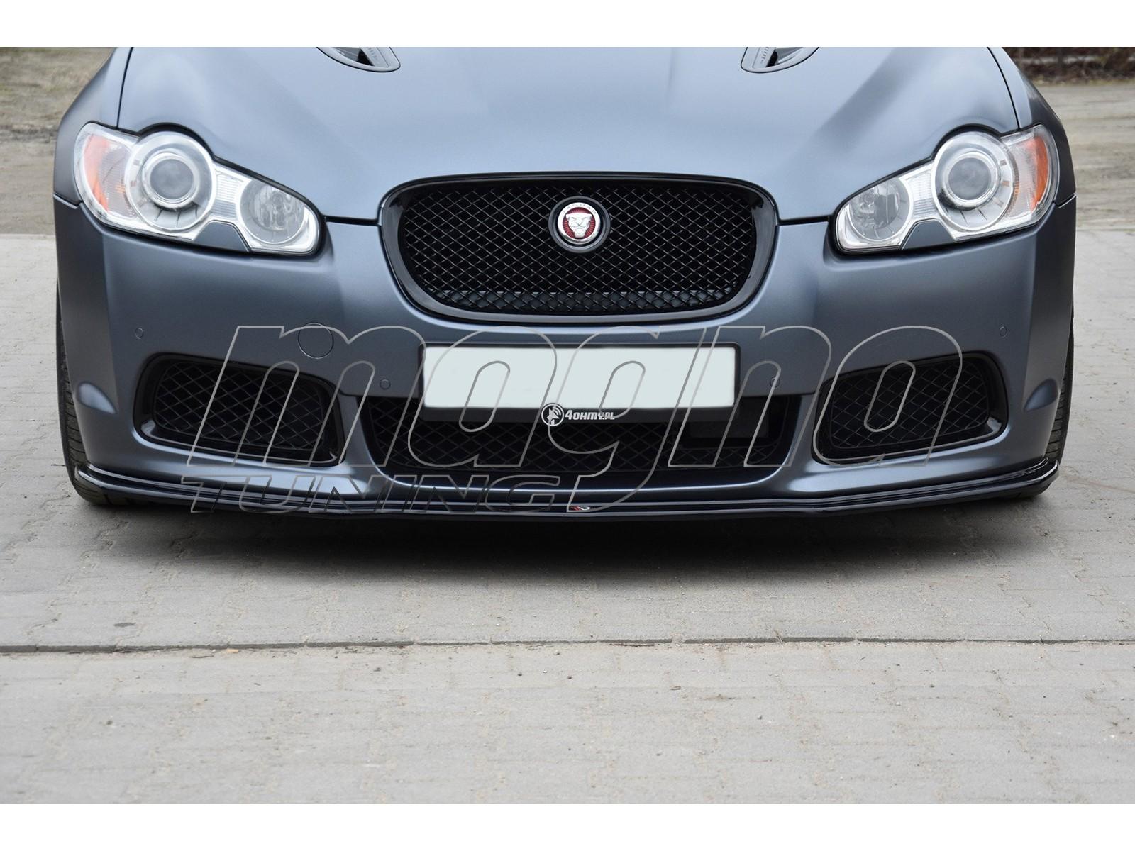 Jaguar XFR X250 Matrix Front Bumper Extension