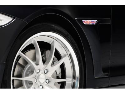 Jaguar XJ X351 Stenos Front Wheel Arch Extensions