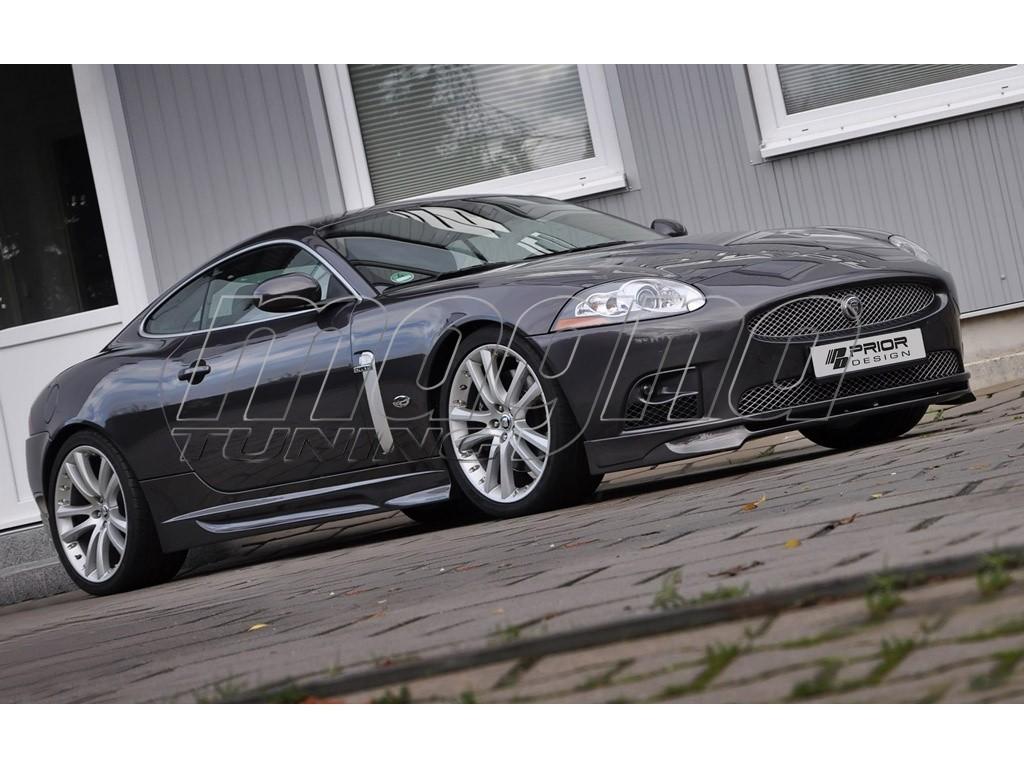 Jaguar XK/XKR X150 Exclusive Side Skirts