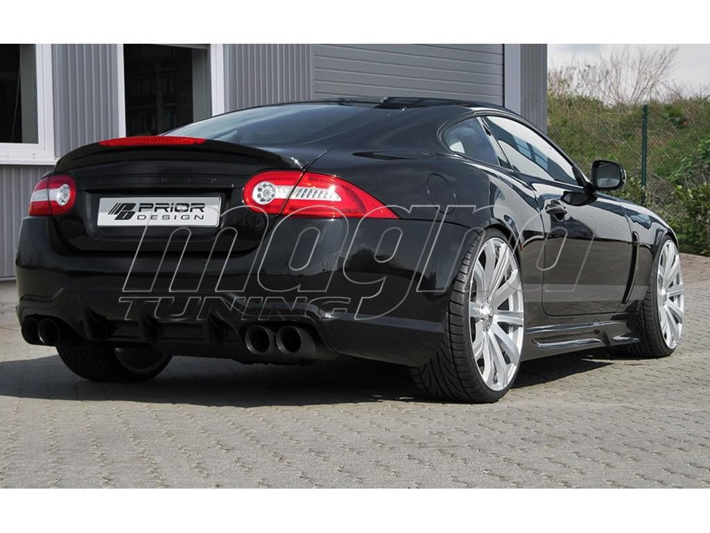 Jaguar XK/XKR X150 V2 Rear Bumper