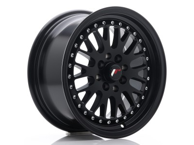 JapanRacing JR10 Full Matt Black Wheel