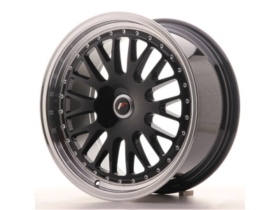 JapanRacing JR10 Gloss Black Wheel