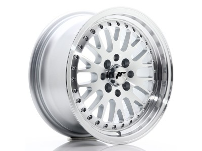 JapanRacing JR10 Silver Machined Wheel