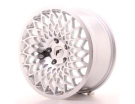 JapanRacing JR17 Silver Machined Wheel