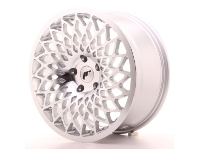JapanRacing JR17 Silver Machined Wheel