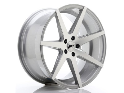 JapanRacing JR20 Silver Machined Wheel