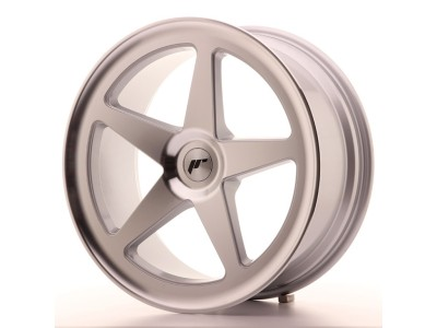 JapanRacing JR24 Silver Machined Wheel