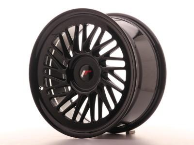 JapanRacing JR27 Glossy Black Felge