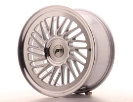 JapanRacing JR27 Silver Machined Wheel