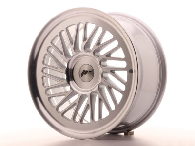 JapanRacing JR27 Silver Machined Wheel
