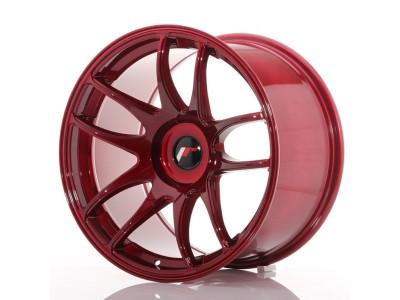 JapanRacing JR29 Red Felge