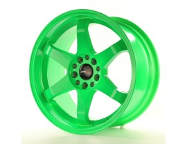 JapanRacing JR3 Green Felge