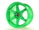 JapanRacing JR3 Green Wheel