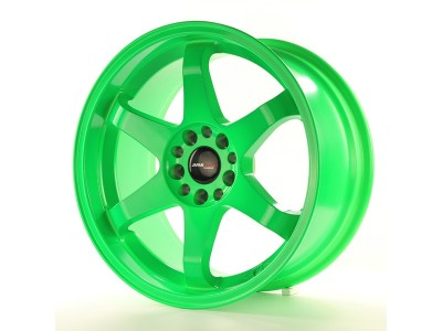 JapanRacing JR3 Green Wheel