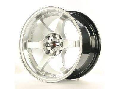 JapanRacing JR3 Hyper Silver Wheel