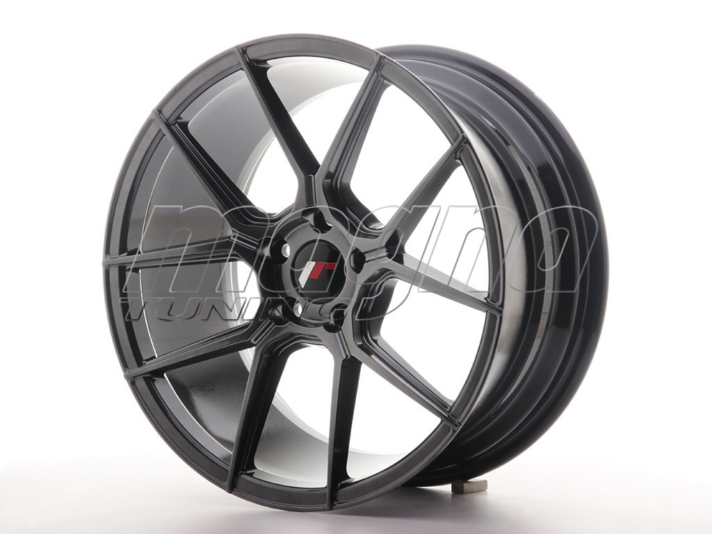 JapanRacing JR30 Hyper Black Felge
