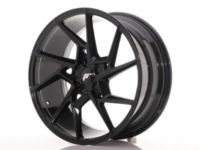 JapanRacing JR33 Glossy Black Felge