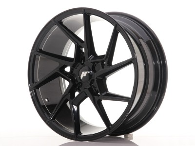 JapanRacing JR33 Glossy Black Wheel