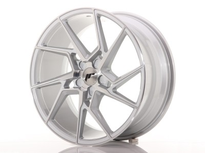 JapanRacing JR33 Silver Machined Wheel