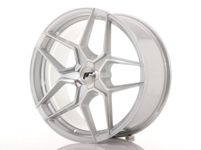 JapanRacing JR34 Silver Machined Wheel