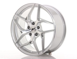 JapanRacing JR35 Silver Machined Felge