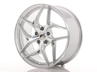 JapanRacing JR35 Silver Machined Wheel